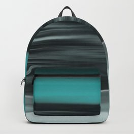 Ocean Calm Abstract Seascape Backpack