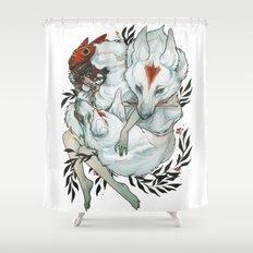 Wolf Child Shower Curtain