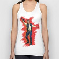 han solo Tank Tops featuring Han Solo by Sindhu Tngm