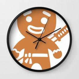Ninja funny Wall Clock