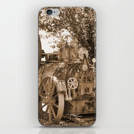 Davey, Payman & Co - Colchester England Sepia iPhone Skin
