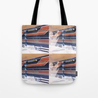 ford Tote Bags featuring Ford by czossi
