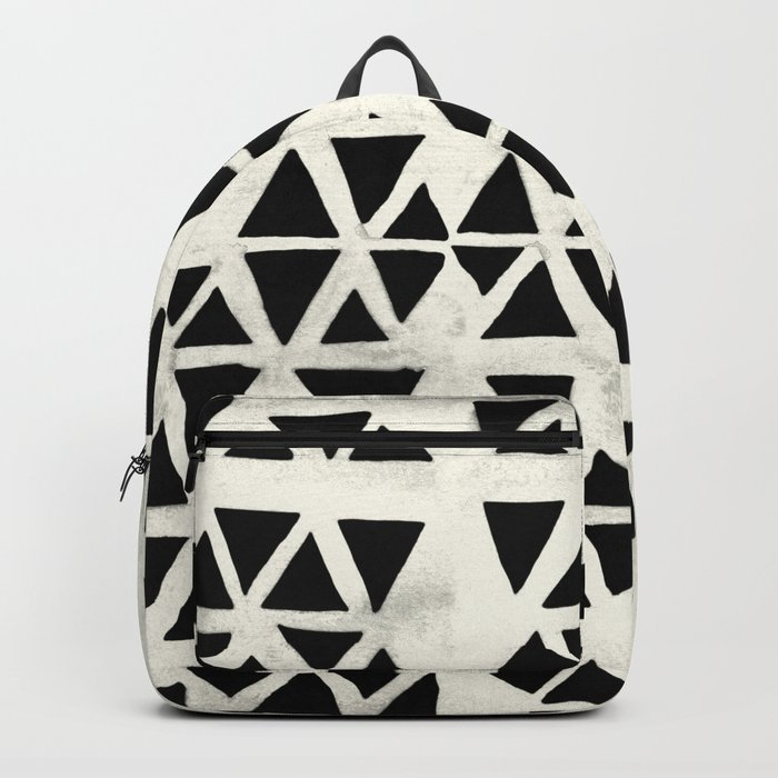 Tribal Geometric Backpack