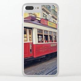 Tram Jam Clear iPhone Case