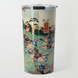 Battle of Kawanakajima Travel Mug
