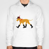 great dane Hoodies featuring Wanderlust Great Dane by Doggen im Haus