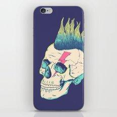Skull Punk iPhone Skin
