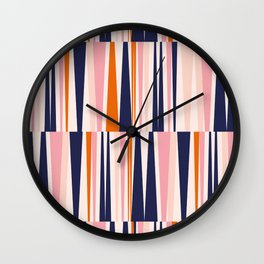 Beaching Pattern Wall Clock