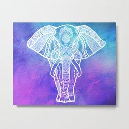 Indian Elephant #2 Metal Print