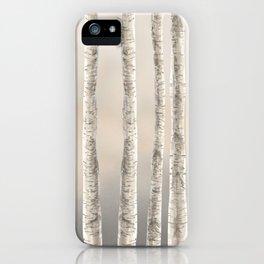 Birches-Winter iPhone Case