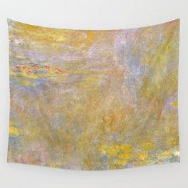 Sea-Roses (Yellow Nirwana) by Claude Monet Wall Tapestry