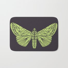The envy of the moth - Geometric design Bath Mat