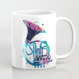 French Horn Coffee Mug