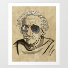 Albert's Sunglasses II Art Print