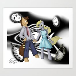 Ticking Time Art Print