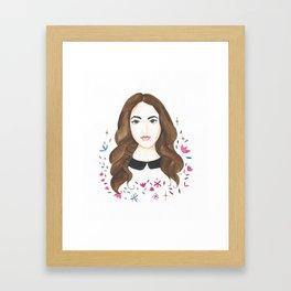 Gina Framed Art Print