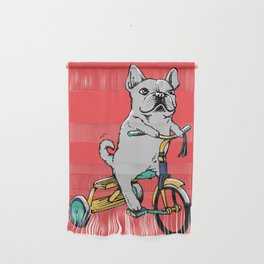 Frenchie Ride Wall Hanging