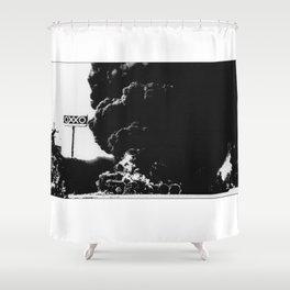 Blockeo Shower Curtain