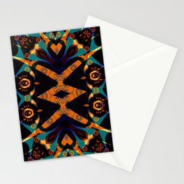 Tribal Geometric Stationery Cards