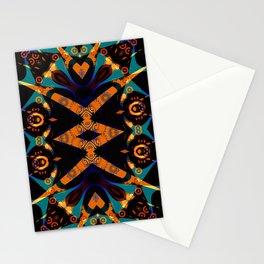 Tribal Geometric Stationery Cards