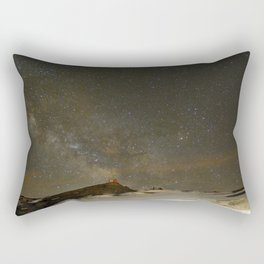 the Milky Way, Sagittarius and Antares on the Sierra Nevada National Park Rectangular Pillow