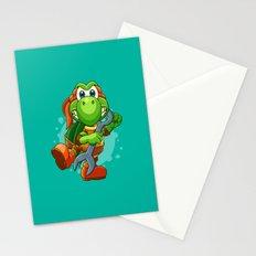 Teenage Mutant Ninja Koopa - Mikey Stationery Cards