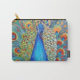 Peacock King Carry-All Pouch