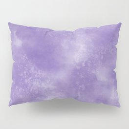 Abstract Watercolor in Ultra Violet Pantone color of year 2018 Pillow Sham