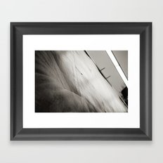 billboard texture Framed Art Print