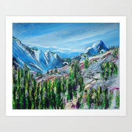 Tioga Pass Art Print