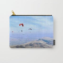 Paragliders in England's Peaks Carry-All Pouch
