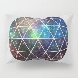 Space Geodesic Pillow Sham