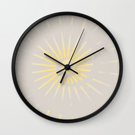 Sunshine / Sunbeam 2 Wall Clock
