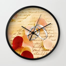 Just a note to say I love you. . . Wall Clock