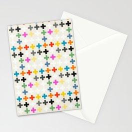 Cross Pattern Stationery Cards