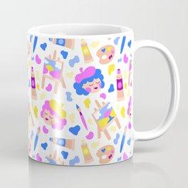 Painter Girls Coffee Mug