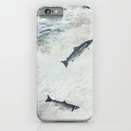 Jumping the Falls  iPhone Case