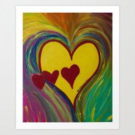 Heart Gallery Art Print
