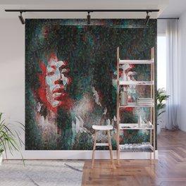 Hendrix impressionism double effect Wall Mural
