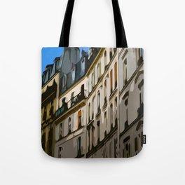 Paris Houses Tote Bag
