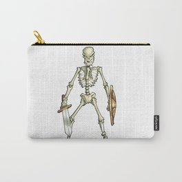 Skeleton Warrior from Jason and the Argonauts Ray Harryhausen Carry-All Pouch
