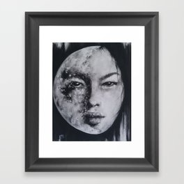 In All Her Phases Framed Art Print