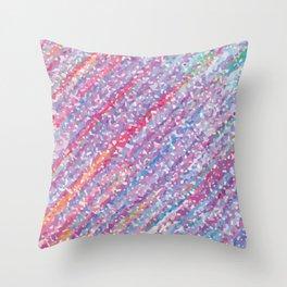 Gentle Rainbow Throw Pillow