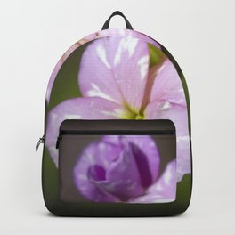 Pink Wildflowers Backpack
