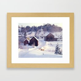 Waits River, Vermont Framed Art Print