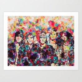 Rock Legend Art Print