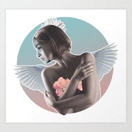 False Angel Art Print