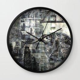 Man With a Movie Camera Wall Clock