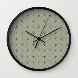 Liquor Pattern (color) - Drinks Series Wall Clock