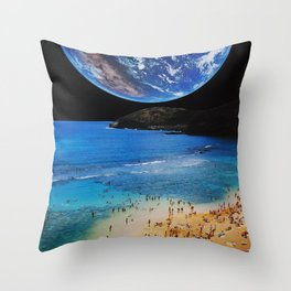 Beach Party 2014 Throw Pillow